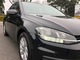 2018 Volkswagen Golf 7.5 MY18 110TSI DSG Trendline Black 7 Speed Sports Automatic Dual Clutch.