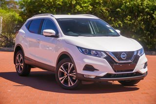2020 Nissan Qashqai J11 Series 3 MY20 ST-L X-tronic White 1 Speed Constant Variable Wagon.