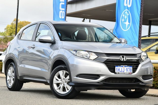 Used Honda HR-V MY17 VTi Melville, 2017 Honda HR-V MY17 VTi Silver 1 Speed Constant Variable Hatchback