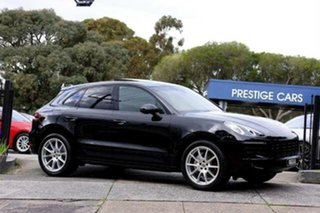 2015 Porsche Macan 95B MY15 S PDK AWD Black 7 Speed Sports Automatic Dual Clutch Wagon.