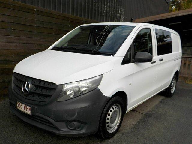 Used Mercedes-Benz Vito 447 111CDI SWB Labrador, 2016 Mercedes-Benz Vito 447 111CDI SWB White 6 Speed Manual Van