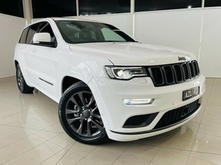 2018 Jeep Grand Cherokee WK MY19 S-Overland White 8 Speed Sports Automatic Wagon.