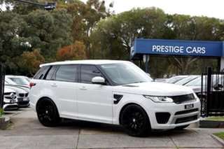 2015 Land Rover Range Rover Sport L494 15.5MY SE White 8 Speed Sports Automatic Wagon.