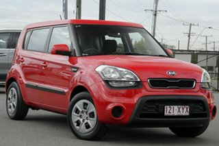 2013 Kia Soul AM MY13 Tomato Red 6 Speed Automatic Hatchback.