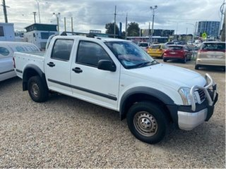 2005 Holden Rodeo RA LT White 5 Speed Manual Crew Cab Pickup