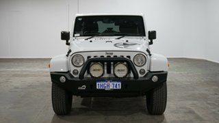 2017 Jeep Wrangler JK MY17 Unlimited Overland White 5 Speed Automatic Hardtop