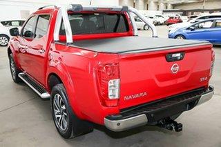 2016 Nissan Navara D23 ST-X Red 7 Speed Sports Automatic Utility