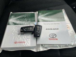 2017 Toyota Hilux GUN126R SR (4x4) Graphite 6 Speed Automatic Dual Cab Utility