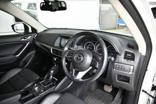 2016 Mazda CX-5 KE1022 Grand Touring SKYACTIV-Drive i-ACTIV AWD White 6 Speed Sports Automatic Wagon