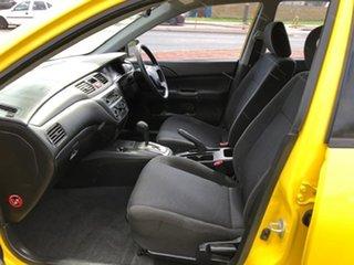 2007 Mitsubishi Lancer CH MY07 ES Yellow 4 Speed Sports Automatic Sedan
