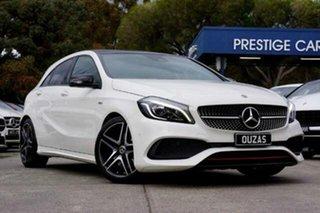 2017 Mercedes-Benz A-Class W176 808+058MY A250 D-CT 4MATIC Sport White 7 Speed.