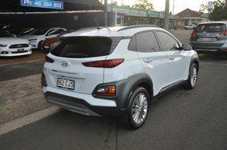 2017 Hyundai Kona OS Elite (FWD) White 6 Speed Automatic Wagon.