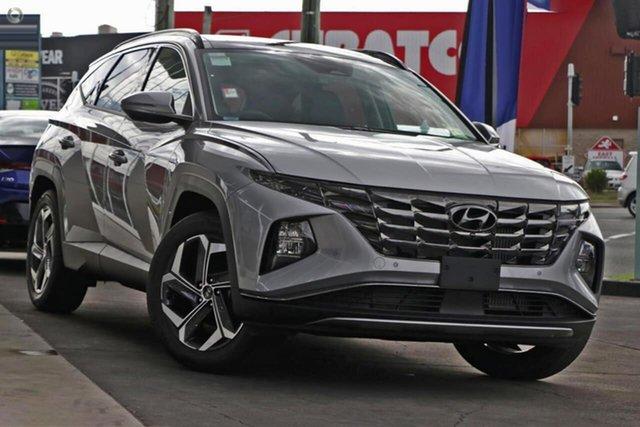 New Hyundai Tucson NX4.V1 MY22 Highlander D-CT AWD Oakleigh, 2021 Hyundai Tucson NX4.V1 MY22 Highlander D-CT AWD Silver 7 Speed Sports Automatic Dual Clutch