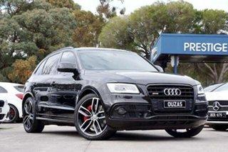 2016 Audi SQ5 8R MY16 plus Tiptronic Quattro TDI Black 8 Speed Sports Automatic Wagon.