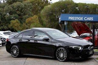2020 Mercedes-Benz A-Class V177 801+051MY A35 AMG SPEEDSHIFT DCT 4MATIC Black 7 Speed.