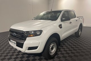 2017 Ford Ranger PX MkII XL Hi-Rider White 6 speed Automatic Utility.