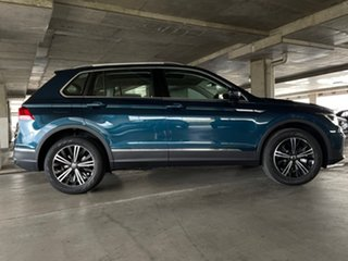 2021 Volkswagen Tiguan 5N MY21 132TSI Life DSG 4MOTION Blue 7 Speed Sports Automatic Dual Clutch