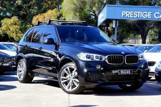 2017 BMW X5 F15 sDrive25d Black 8 Speed Automatic Wagon.