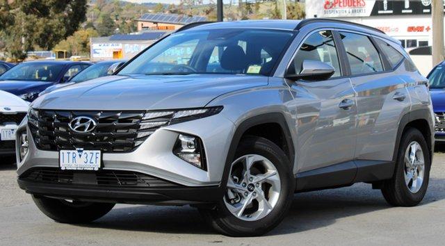 Demo Hyundai Tucson NX4.V1 MY22 2WD Ferntree Gully, 2021 Hyundai Tucson NX4.V1 MY22 2WD Shimmering Silver 6 Speed Automatic Wagon
