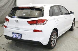 2019 Hyundai i30 PD2 MY19 Active Polar White 6 Speed Sports Automatic Hatchback.