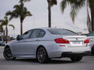 2011 BMW 5 Series F10 528i Silver 8 Speed Sports Automatic Sedan.
