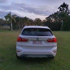 2015 BMW X1 F48 sDrive18d Steptronic White Pearl 8 Speed Sports Automatic Wagon