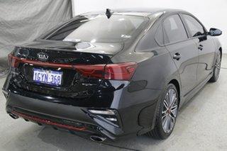 2019 Kia Cerato BD MY20 GT DCT Black 7 Speed Sports Automatic Dual Clutch Sedan.