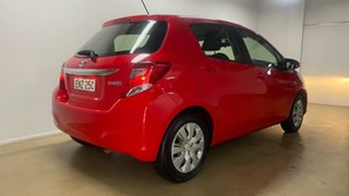 2016 Toyota Yaris NCP130R MY15 Ascent Red 4 Speed Automatic Hatchback.
