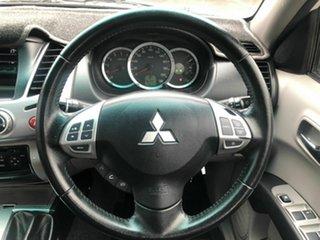 2012 Mitsubishi Triton MN MY13 GLX-R Double Cab White 5 Speed Sports Automatic Utility