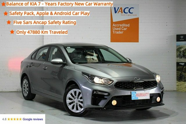 Used Kia Cerato BD MY19 S Moorabbin, 2019 Kia Cerato BD MY19 S Grey 6 Speed Sports Automatic Sedan
