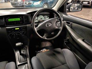2005 Toyota Corolla ZZE122R 5Y Ascent Metallic Blue 4 Speed Automatic Sedan