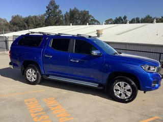 2021 LDV T60 SK8C Luxe Blue 6 Speed Sports Automatic Utility.