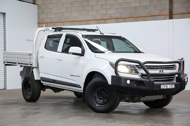 Used Holden Colorado RG MY17 LS Crew Cab Erina, 2017 Holden Colorado RG MY17 LS Crew Cab White 6 Speed Sports Automatic Cab Chassis