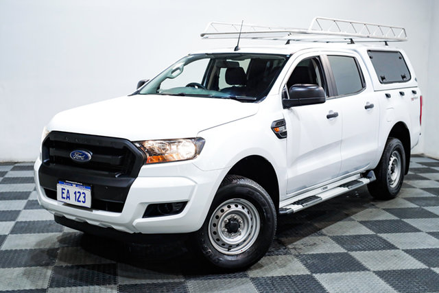 Used Ford Ranger PX MkII MY18 XL 2.2 Hi-Rider (4x2) Edgewater, 2018 Ford Ranger PX MkII MY18 XL 2.2 Hi-Rider (4x2) White 6 Speed Automatic Cab Chassis
