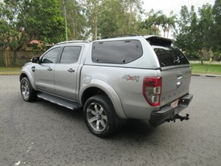 2015 Ford Ranger PX Wildtrak Double Cab Silver 6 Speed Sports Automatic Utility