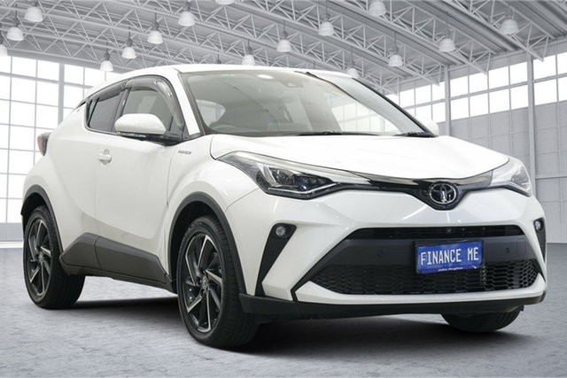 Used Toyota C-HR NGX10R Koba S-CVT 2WD Victoria Park, 2020 Toyota C-HR NGX10R Koba S-CVT 2WD Crystal Pearl 7 Speed Constant Variable Wagon