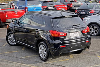 2010 Mitsubishi ASX XA MY11 Aspire Black 6 Speed Constant Variable Wagon.
