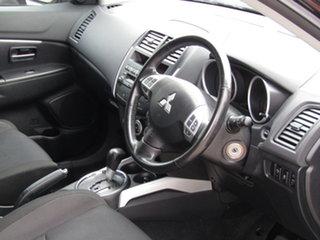 2011 Mitsubishi ASX XA MY11 2WD 8 Ball Black 6 Speed Constant Variable Wagon