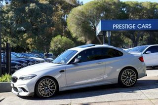 2018 BMW M2 F87 LCI Competition M-DCT Silver 7 Speed Sports Automatic Dual Clutch Coupe