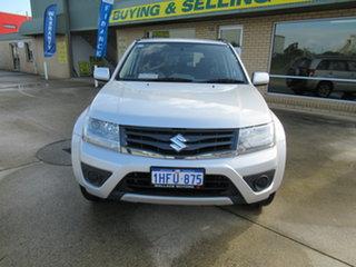 2013 Suzuki Grand Vitara JB Urban Silver 4 Speed Automatic Sportswagon.