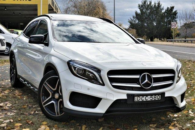 Used Mercedes-Benz GLA-Class X156 805+055MY GLA250 DCT 4MATIC Phillip, 2015 Mercedes-Benz GLA-Class X156 805+055MY GLA250 DCT 4MATIC White 7 Speed