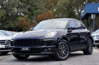 2017 Porsche Macan 95B MY17 PDK AWD Black 7 Speed Sports Automatic Dual Clutch Wagon