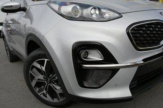 2019 Kia Sportage QL MY20 SX+ 2WD Sparkling Silver 6 Speed Sports Automatic Wagon.