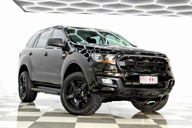Used Ford Everest UA Trend Burleigh Heads, 2016 Ford Everest UA Trend Black 6 Speed Automatic SUV