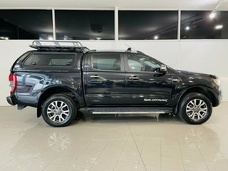 2016 Ford Ranger PX MkII Wildtrak Double Cab Black 6 Speed Sports Automatic Utility