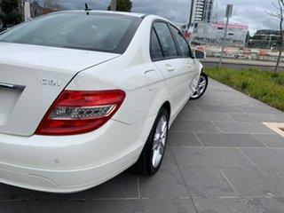 2010 Mercedes-Benz C-Class W204 MY10 C200 CDI Classic White 5 Speed Automatic Sedan