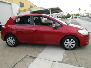2011 Toyota Corolla ZRE152R MY11 Ascent Red 6 Speed Manual Hatchback