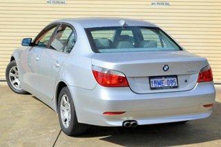 2003 BMW 5 Series E60 525i Steptronic Silver 6 Speed Sports Automatic Sedan