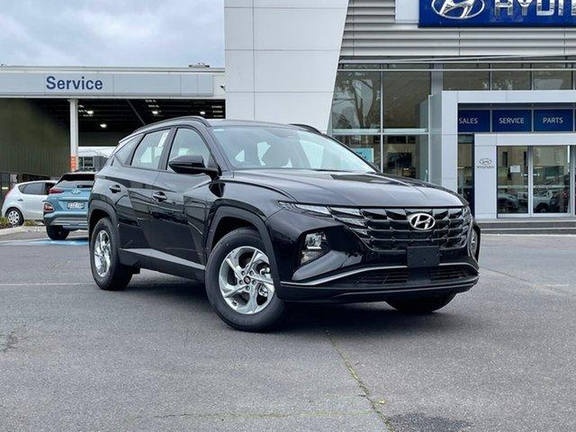 New Hyundai Tucson NX4.V1 MY22 2WD South Melbourne, 2021 Hyundai Tucson NX4.V1 MY22 2WD Phantom Black 6 Speed Automatic Wagon