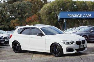 2018 BMW 1 Series F20 LCI-2 M140i White Semi Auto Hatchback.